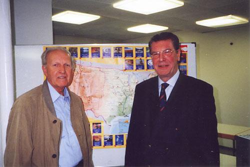 Dr. Heinz Marxcors, Präsident Bernd Broer