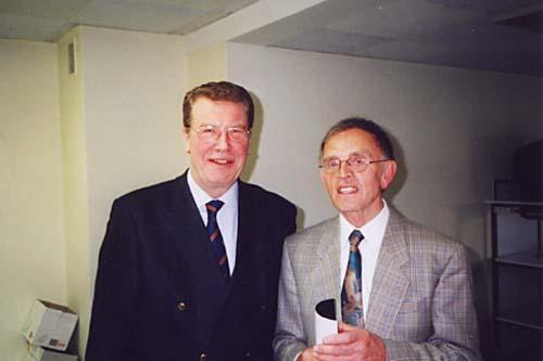 Friedel Schütte und Bernd Broer