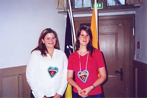 Emily Wehmeyer und Annika Lienen
