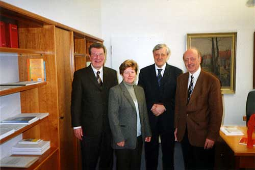 Doris Roach bei Bürgermeister Heinz Paus