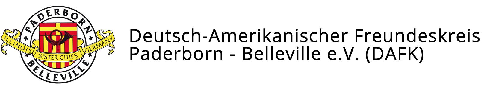 Deutsch-Amerikanischer Freundeskreis Paderborn – Belleville e.V.